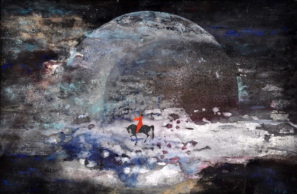 青年画家多尔加画作展