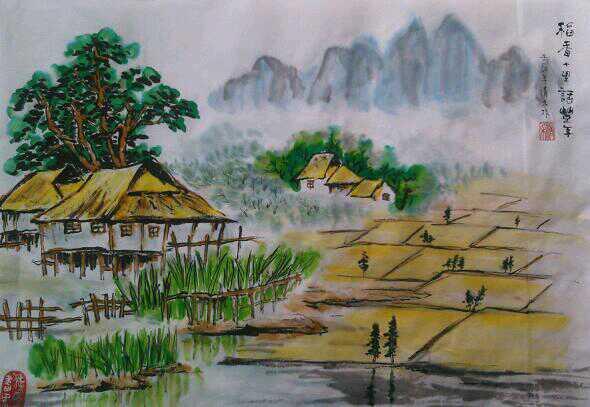知名画家李清禾作品展示