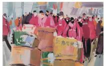 丹青只为家国染·战疫主题美术作品展示| 2020,中国力量!